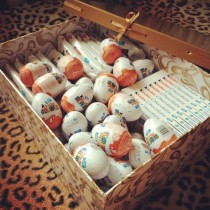 "Sweets ""Kinder Surprise "" in a box"