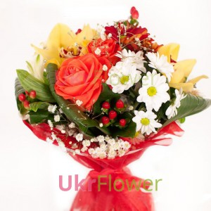 "Bouquet ""The Blues "" ― Ukrflower - flower delivery"