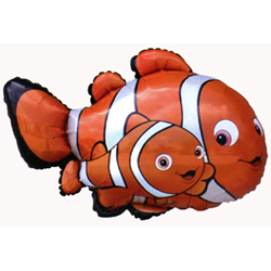 Helium balloon clown fish Nemo 81 cm ― Ukrflower - flower delivery