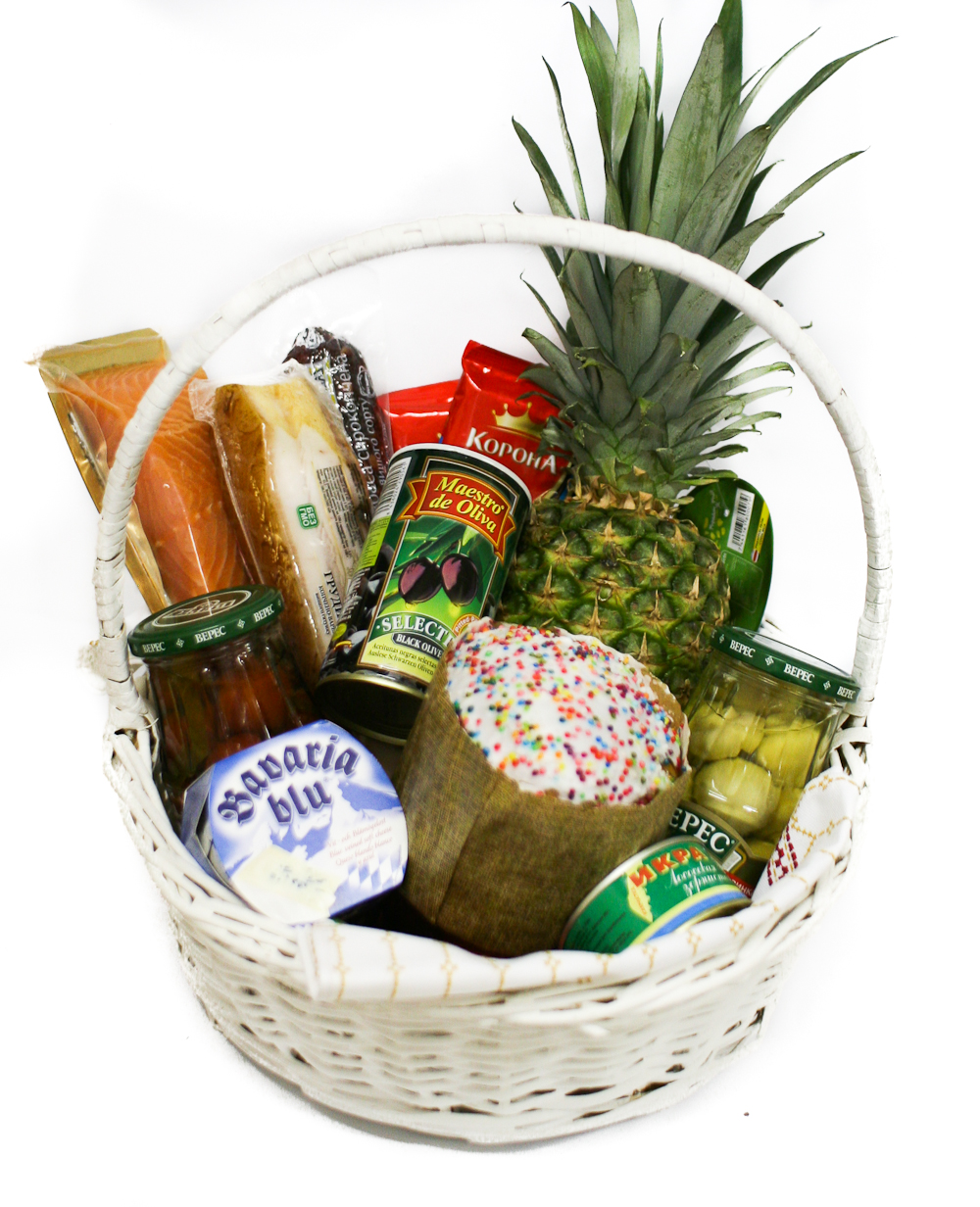 Easter basket ukrflower flower delivery kiev ukraine easter basket ukrflower flower delivery negle Images