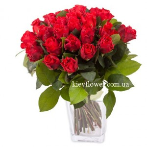 "Bouquet of Roses ""El Toro "" ― Ukrflower - flower delivery"