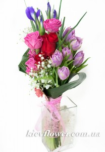 "Bouquet ""Flowers for the ladies "" ― Ukrflower - flower delivery"