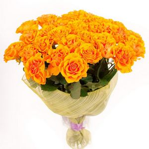 25 yellow roses ― Ukrflower - flower delivery