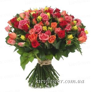 "Bouquet ""101 roses "" ― Ukrflower - flower delivery"
