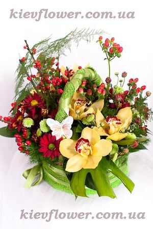 Rendezvous  flower basket ― Ukrflower - flower delivery