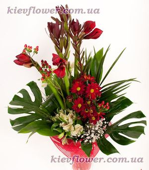 An exotic business bouquet ― Ukrflower - flower delivery