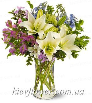 "Bouquet ""Spring Mix "" ― Ukrflower - flower delivery"