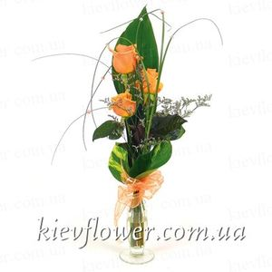 "Bouquet of Roses ""compliment "" ― Ukrflower - flower delivery"