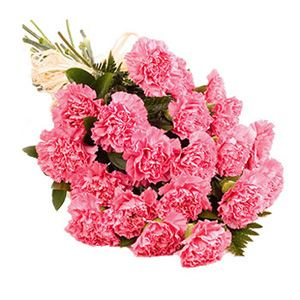 Bouquet of 39 carnations ― Ukrflower - flower delivery