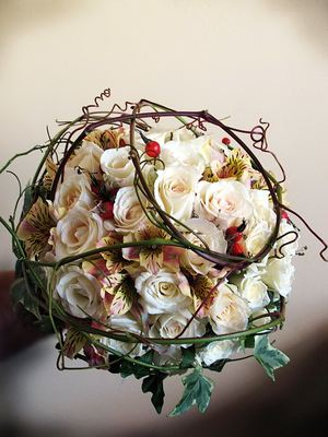 Designer bridal bouquet № 15 ― Ukrflower - flower delivery