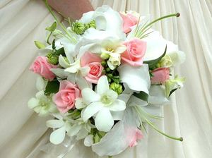 Brides bouquet № 36 ― Ukrflower - flower delivery