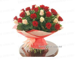 "Bouquet of Roses ""Duet ""31 Roses ― Ukrflower - flower delivery"