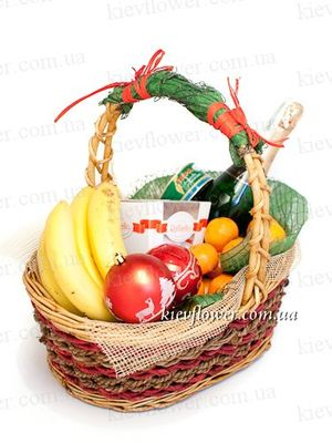 Gift basket 3 ― Ukrflower - flower delivery