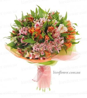 "Bouquet alstromeriyay ""Gloria "" ― Ukrflower - flower delivery"