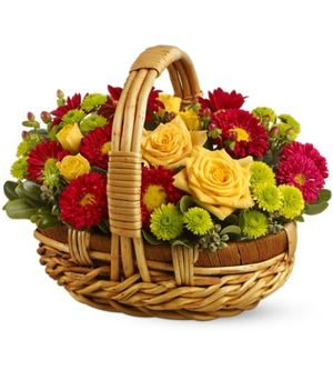 "Basket ""Our Autumn "" ― Ukrflower - flower delivery"