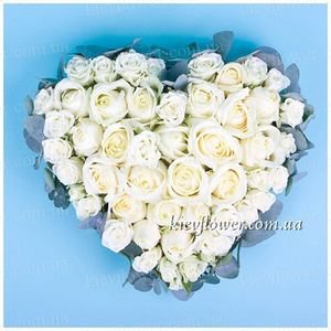 "Heart ""Declaration of Love"" ― Ukrflower - flower delivery"