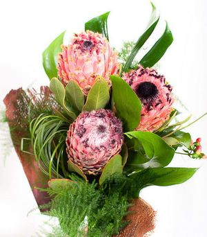 "An exotic bouquet ""Tropicana "" ― Ukrflower - flower delivery"