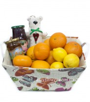"Basket ""Be healthy!"""