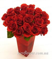 "Bouquet of roses ""Arrow of Cupid"""