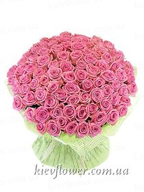 "Bouquet ""101 pink rose """