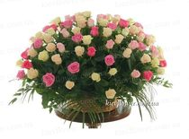 "Basket of roses ""twosome ""101 roses"