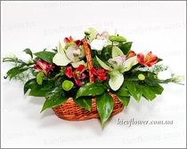 "Flower basket ""Bright Day """