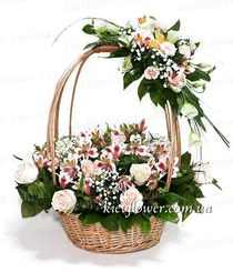 "Basket ""With Tenderness and Love"""