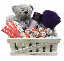 "Basket ""The hottest gift"""