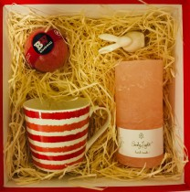 "Gift set ""Shades of Red"""