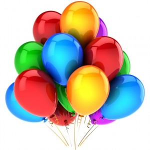 Mixed helium balloons ― Ukrflower - flower delivery