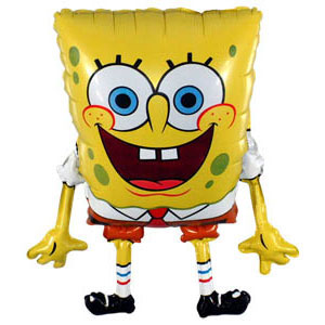 Helium Balloon SpongeBob ― Ukrflower - flower delivery