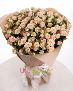 "Spray rose ""Natalie"" ― Ukrflower - flower delivery"